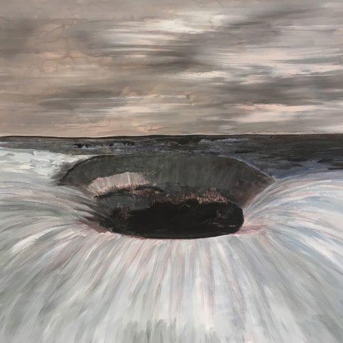 The Hole akryl 70x95 cm